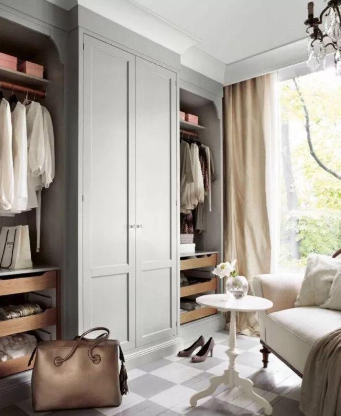 50款卧室衣柜衣橱衣帽间设计效果图,总有你喜欢的款!