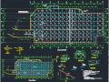 地下单层框架结构独立车库结构施工图