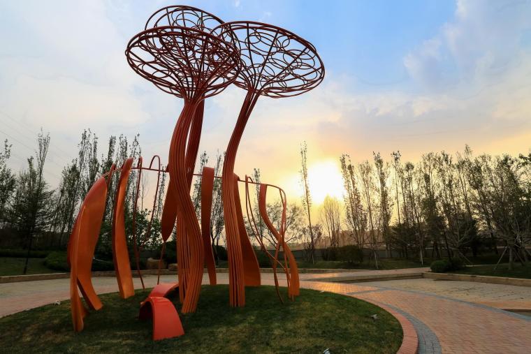 济南融汇城示范区景观-8