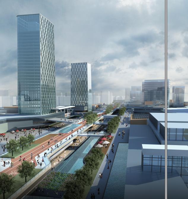 [浙江]多维灵动创意体验空间城市景观规划设计方案_7