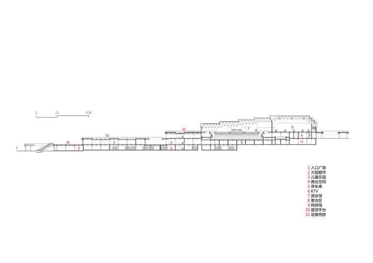 临安半透明轻盈的体育文化会展中心立面图(29)