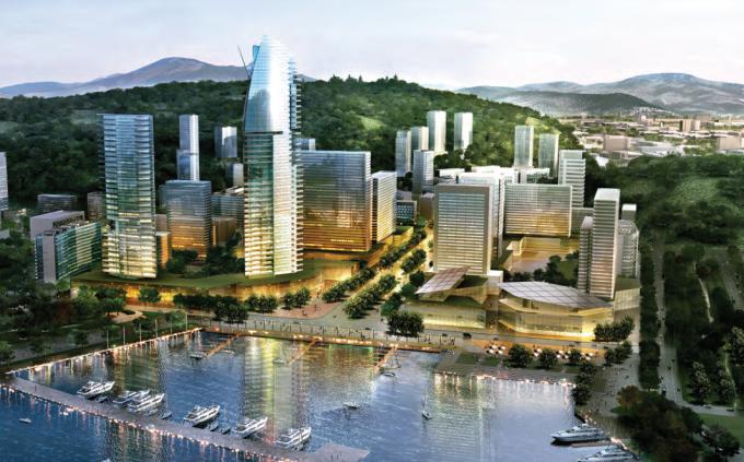 [四川]山水宜居特色临港经济开发区城市规划设计方案