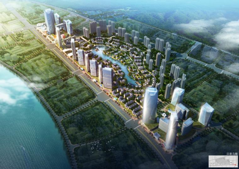 [合集]3套现代风格多工程城市综合体建筑设计方案文本