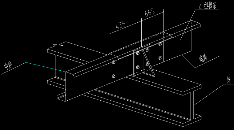 汽车展厅4S店钢结构_2