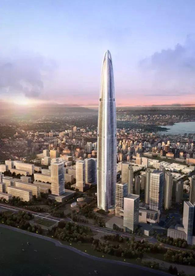 中国高度,建世界第二高楼,636米125层今年竣工!_3