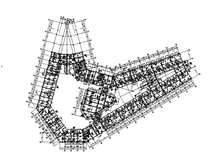 [贵州]4层钢混框架结构综合楼结构施工图(2015)