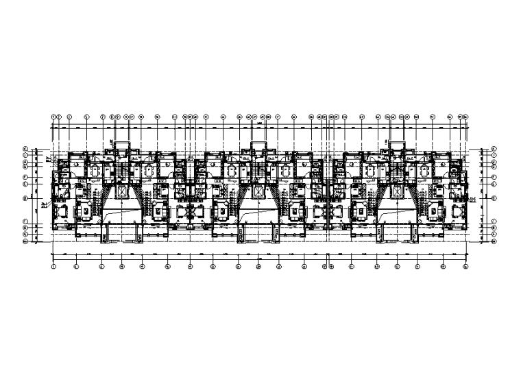 上海华润十一层住宅楼给排水设计施工图