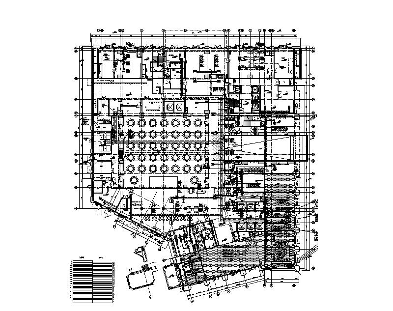 深圳26层大酒店暖通施工图