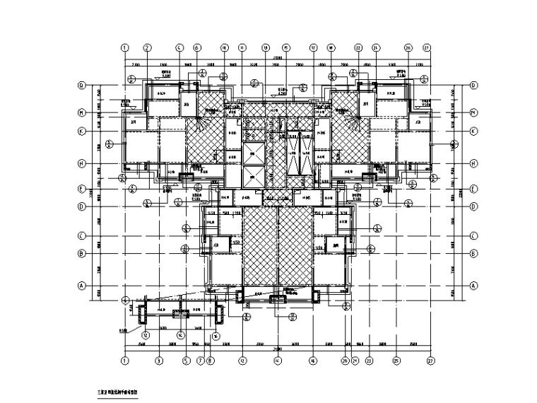 32层剪力墙结构高层住宅楼结构施工图