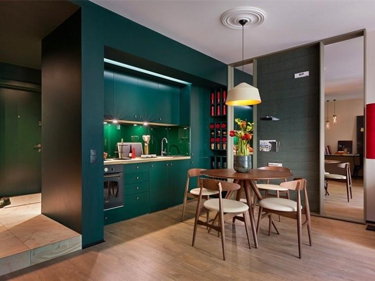 乌克兰复古风单身男子公寓