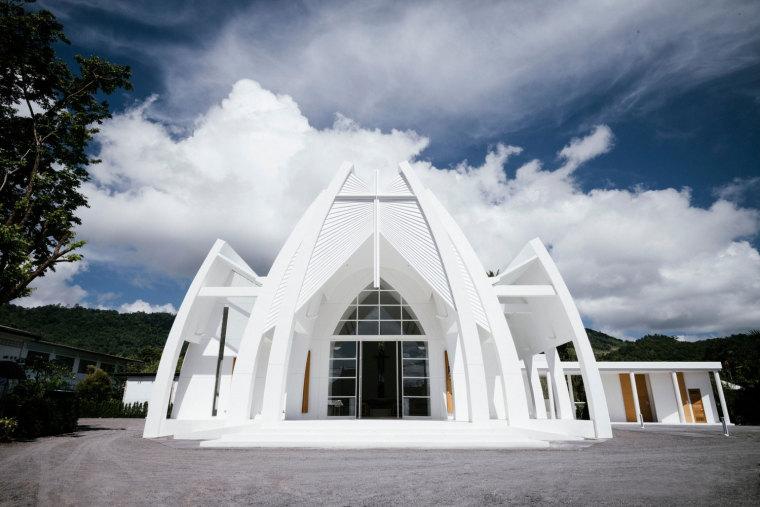 泰国苏梅岛Mary基督教堂