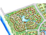 温泉小镇总体策划与概念性规划