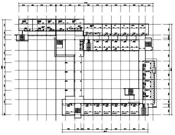 VRV空调设计图资料下载-某材料学院楼VRV空调设计图
