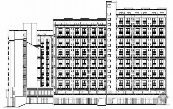 [四川成都]某大型家园住宅楼建筑施工图