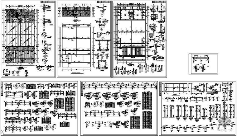 某冷库结构设计图