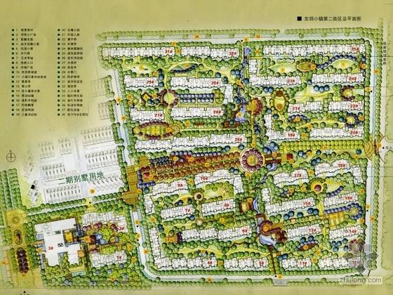 南京某小区景观设计平面图