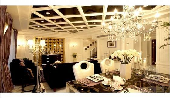 精致时尚小户型样板房室内设计方案(样板房装修风格)73页