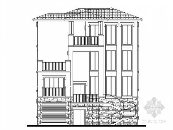 [东莞]某四层别墅建筑施工图