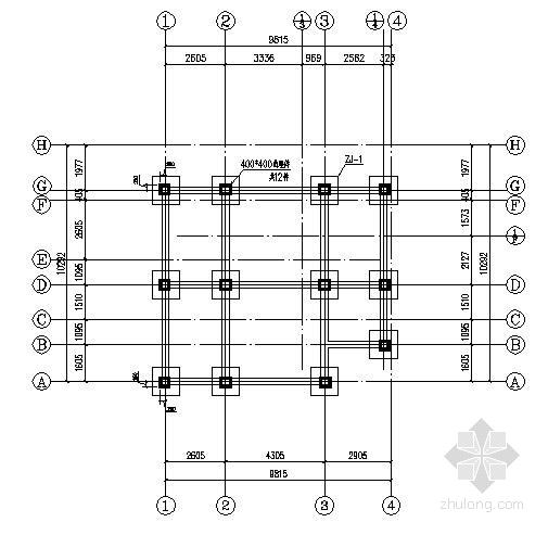 山地高脚木结构别墅结构施工图