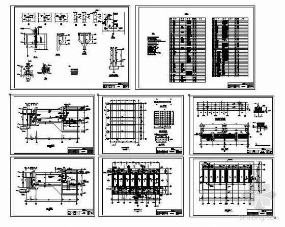 50000吨/天V型滤池设计图纸