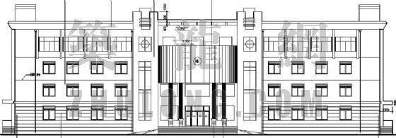 某镇政府办公楼施工图(全套)