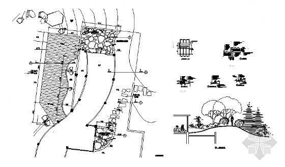 木平面台及屋顶花园详图-4