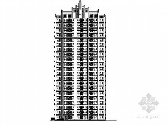 [河北] 高层剪力墙结构住宅建筑施工图(16年最新 171张图纸超详细)