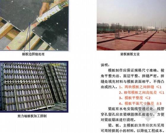 建筑工程施工质量控制标准化手册(25个分项 附图)