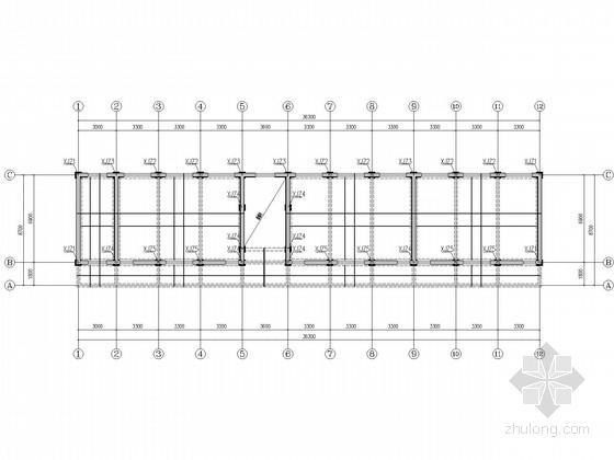 [山东]三层砌体教学楼结构加固施工图