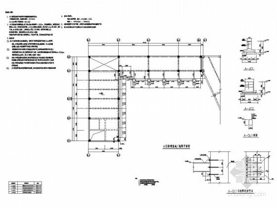 西安丝路风情街幕墙骨架图(含3D3S模型)