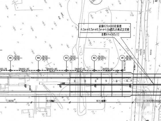 [安徽]市政道路给排水工程施工图设计