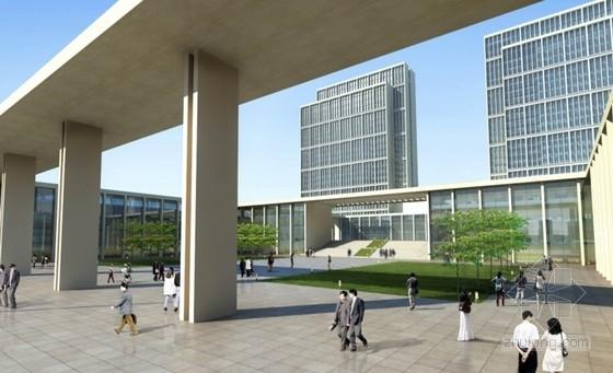 [四川]现代风格高层市区行政办公建筑设计方案文本-现代风格高层市区行政办公建筑效果图