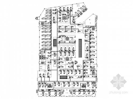 [江西]商业中心广场暖通空调设计施工图