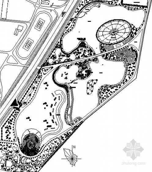 [大连]农业生态园景观工程施工图