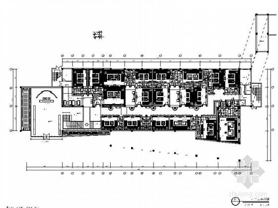 VIP包房室内装修施工图资料下载-[安徽]某豪华KTV娱乐城室内装修施工图(含效果)