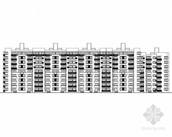 [北京]某小区住宅楼建筑施工图(知名设计院设计)
