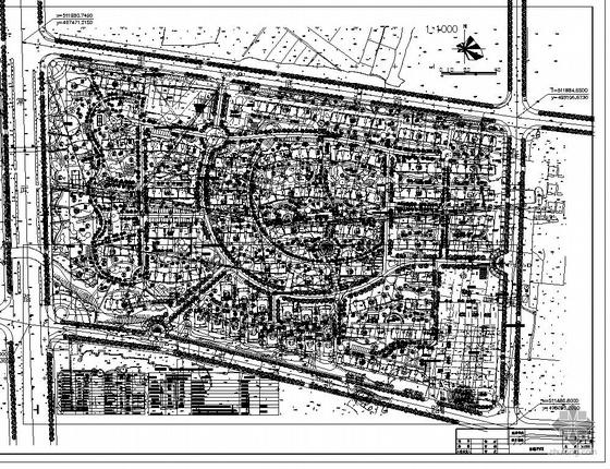 常州某住宅小区规划总图