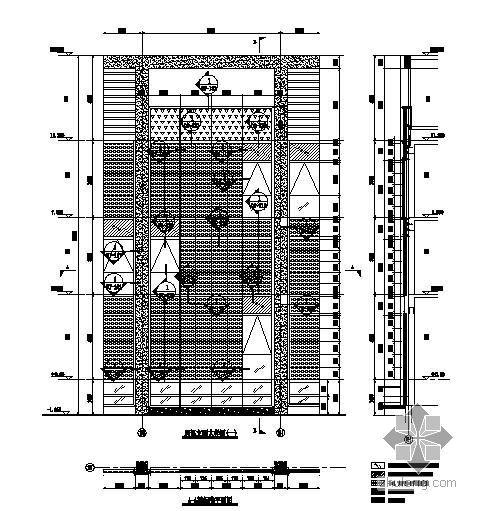 天津某商务园工程幕墙结构设计图