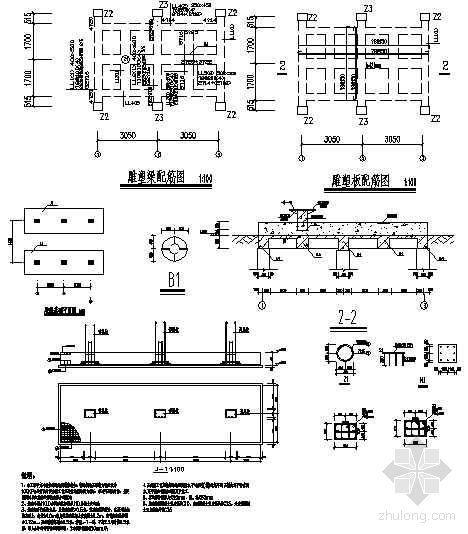 雕塑建筑施工详图