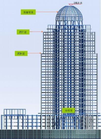 [上海]金融大厦钢结构施工组织设计(钢框架、中建)