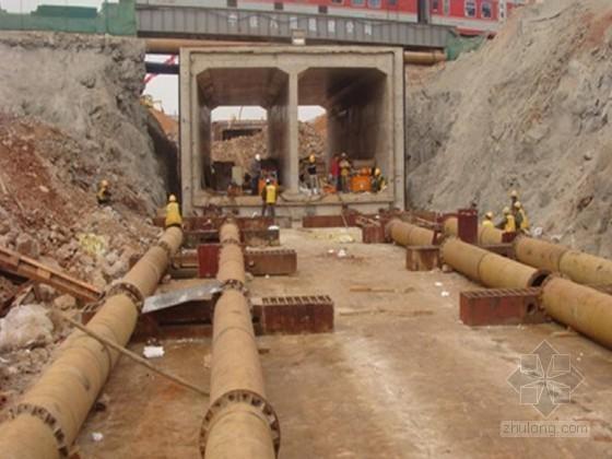 下穿铁路框架涵工程施工组织设计(中铁)