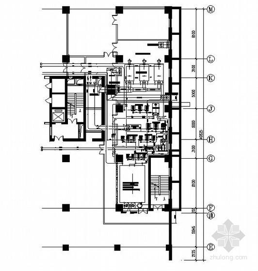 [太原]商业楼空调机房施工图
