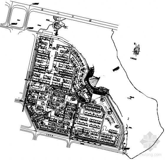 武汉住宅区全套景观施工图