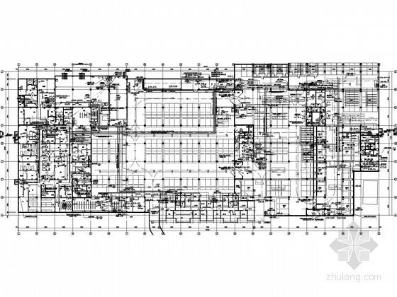[北京]大型甲类人防地下室全套电气图纸(救护站、人员掩蔽)