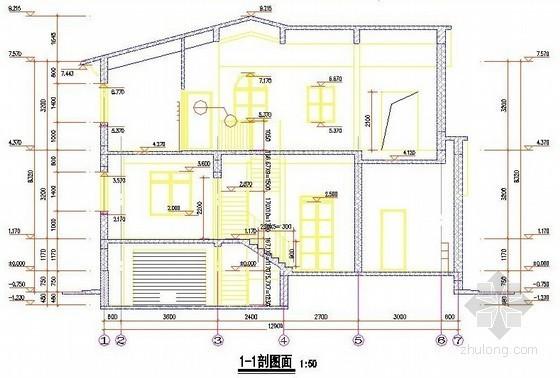 广联达整套土建别墅造价实例(含图纸、计价、钢筋、图形)