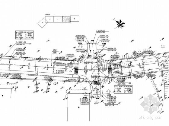 [珠海]城市次干道施工图设计(53张CAD图)