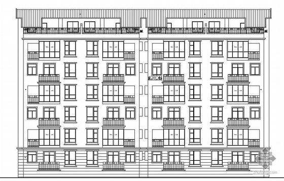 [江西萍乡市]某六层复式洋房12号楼建筑施工图