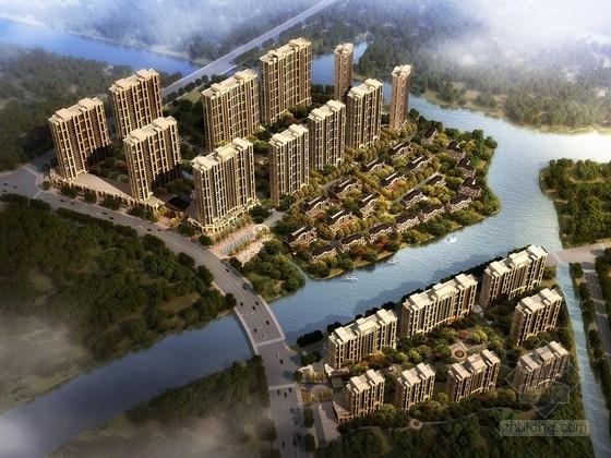 [浙江]欧式风格住宅区规划及单体设计方案文本(含  CAD 638图纸)