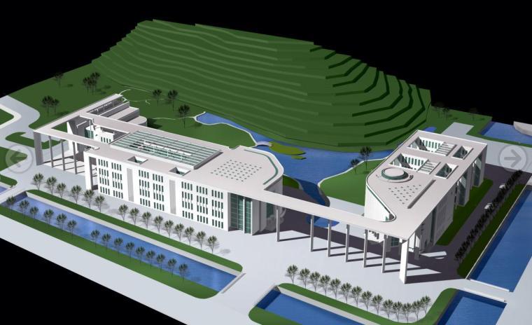 [浙江]现代简洁型大剧院建筑设计方案文本(含CAD及psd格式文件)