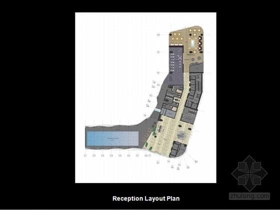 [北京]名师现代综合商务写字楼室内设计方案(含效果图)